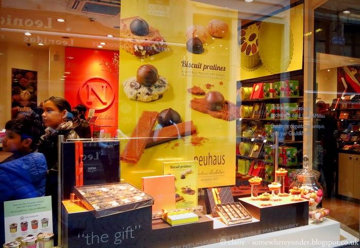 Chocolate shop - Brussels, Belgium