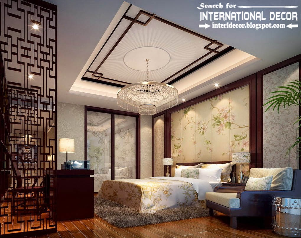15 best false ceiling designs of plasterboard with lighting for International decor false ceiling