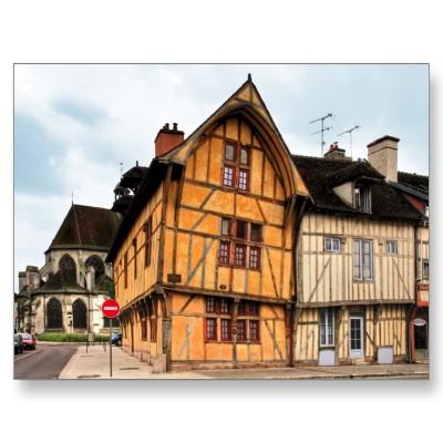 Francia arquitectura en madera viga de roble - Arquitectura en madera ...