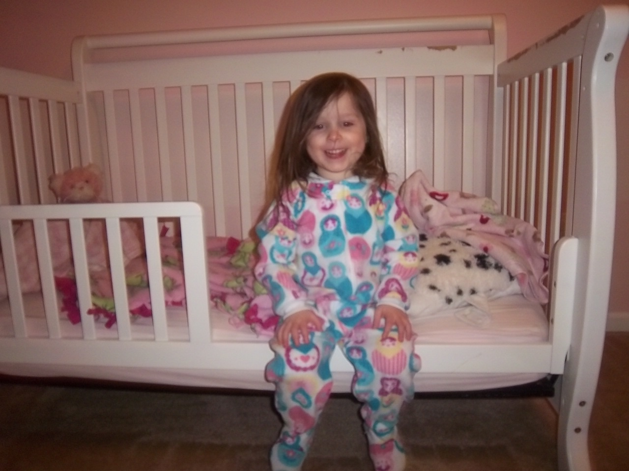 The Ward Family Big Girl Beds