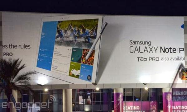 Samsung Note Pro dan Tab Pro
