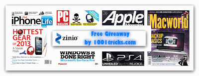 Free Zinio 1 Year Subscription