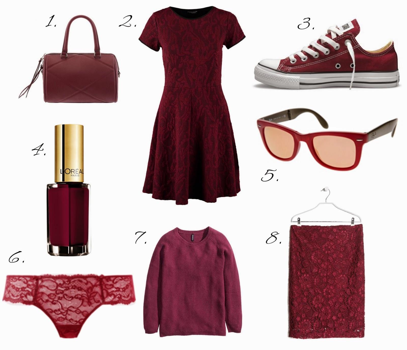 pantone color marsala 2015 productos complementos trendy tendencia moda