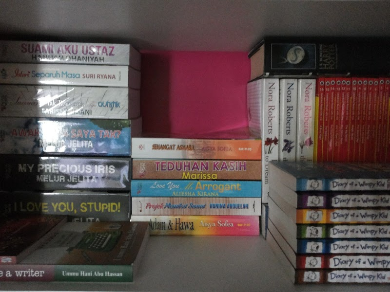 Hobi @ Koleksi Novel saya