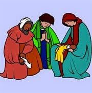 Three Men Praying