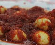 Resep masakan indonesia sambal goreng telur puyuh spesial (istimewa) praktis mudah sedap, gurih, enak, nikmat lezat