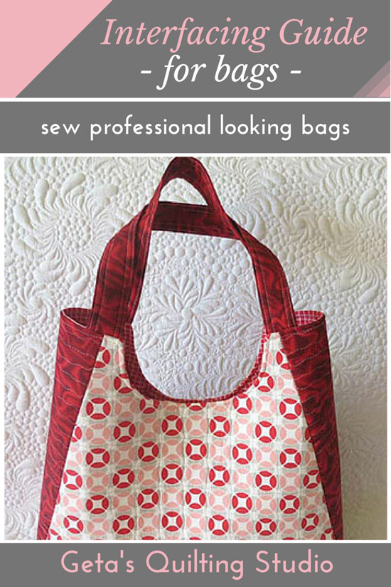 Interfacing Guide for Bags