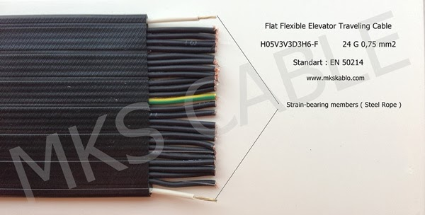 Elevator Travelling Cable : Elevator traveling cable h vvh f