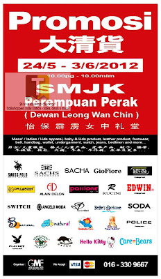 Branded Clearance Sale Perak