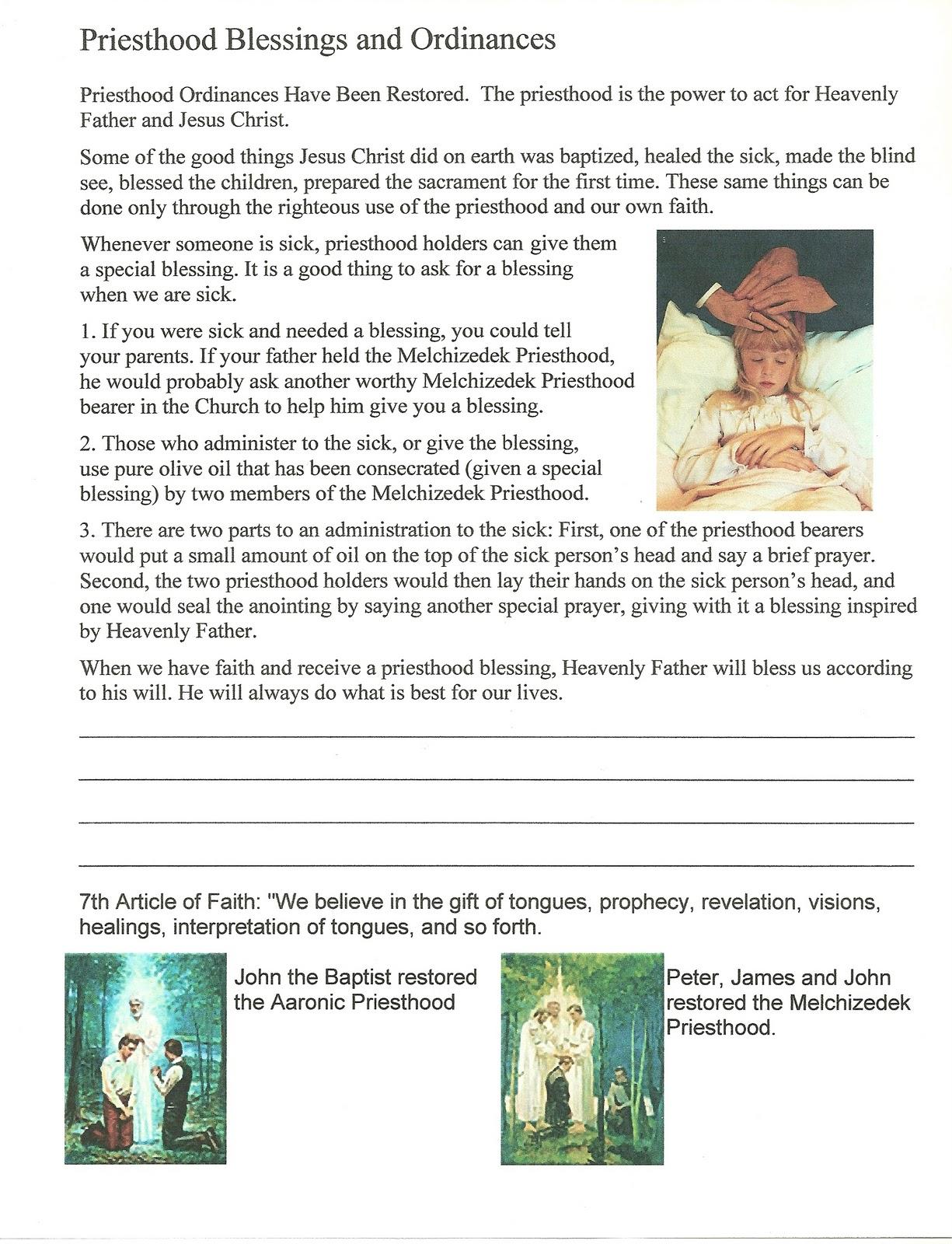 Primary 3 Lesson 9