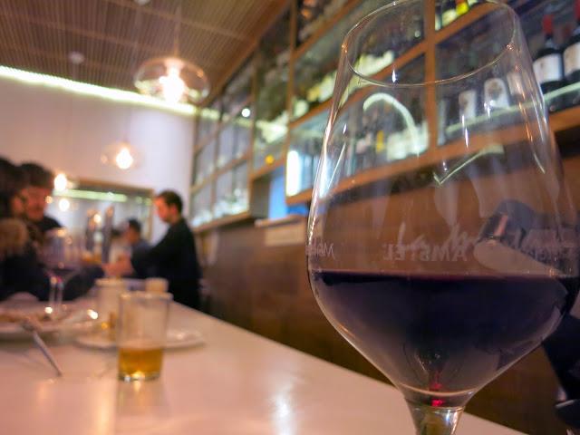 Detalle de barra, Bar La Montería.