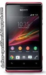 Spesifikasi dan Harga Sony Xperia E Dual C1505
