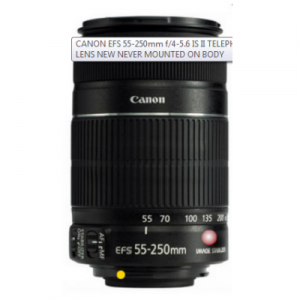Snapdeal: Buy Canon Ef-S 55-250Mm F/4-5.6 Is Ii Lens Rs.8490