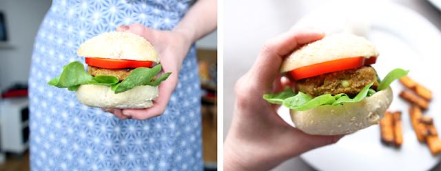 Oppskrift Veganburger Protein Tofu Proteinrik Hjemmelaget Vegetarburger