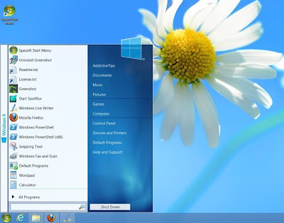 Spesoft Windows 8 Start Menu
