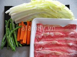 Canh cải thảo cuộn thịt ngọt thơm hấp dẫn