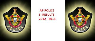 AP Police SI results