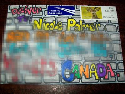 mail art, snail mail, pen pal, grafetti