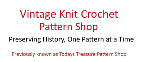 Vintage Knit Crochet Shop Talk