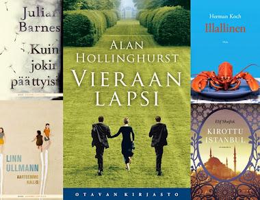 Vuoden 2012 parhaat kirjat Leena Lumissa