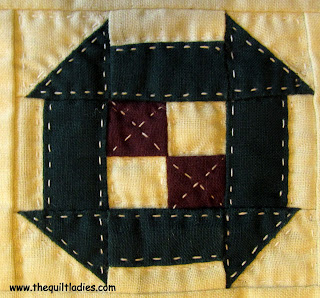 little quilt pattern block tutorial