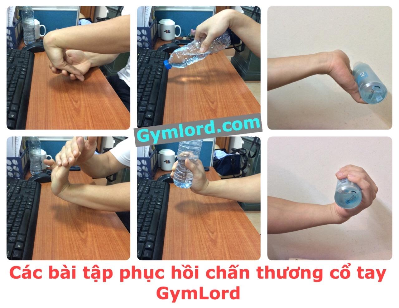 Bài tập phục hồi chấn thương cổ tay 3