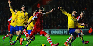 Video Gol Southampton vs Arsenal 29 Januari 2014