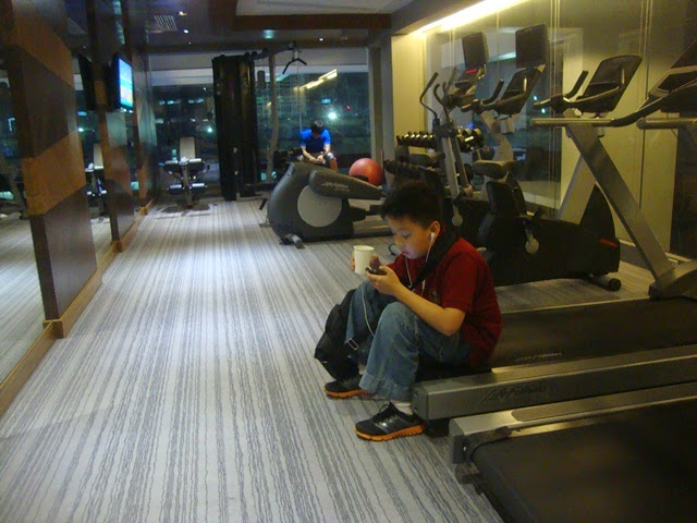 F1 HOTEL MANILA, F1 HOTEL MANILA GYM
