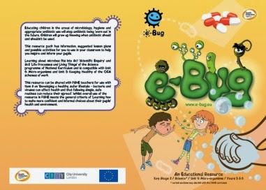 E-Bug: ελεύθερο πανευρωπαϊκό υλικό για τους βασικούς κανόνες υγιεινής και τους μικροοργανισμούς