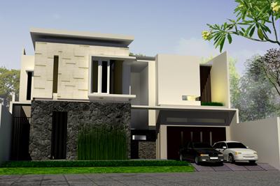 Konsep rumah minimalis namun tetap terlihat elegan