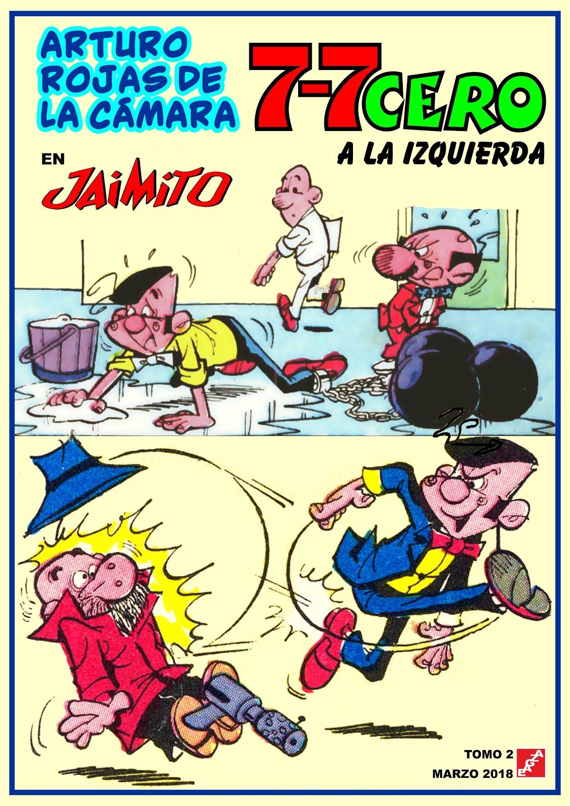 7-7 Cero a la izquierda en Jaimito- Tomos 01-02 - A. Rojas de la Cámara - EAGZA