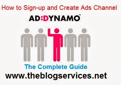 How to Signup with Addynamo and Generate Banner Ads Code