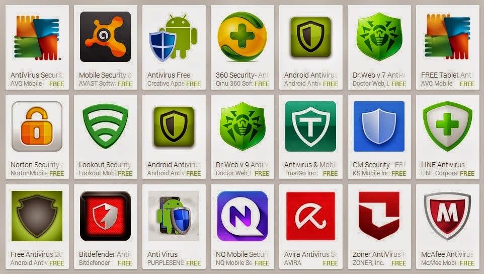 Aplikasi Antivirus Terbaik Android Update terbaru