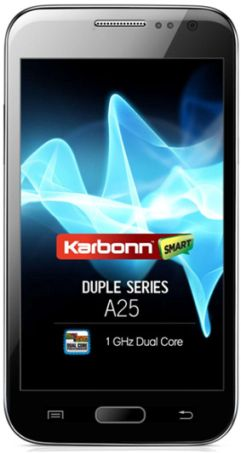 Karbonn A25 with 5-inch Display, Dual Core Phone