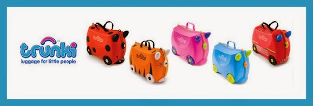 Distintos modelos de las maletas Trunki