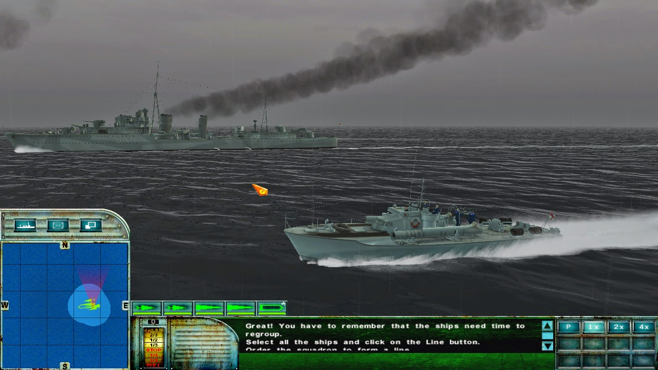 pt-boat simulation, battleship simulation, naval game