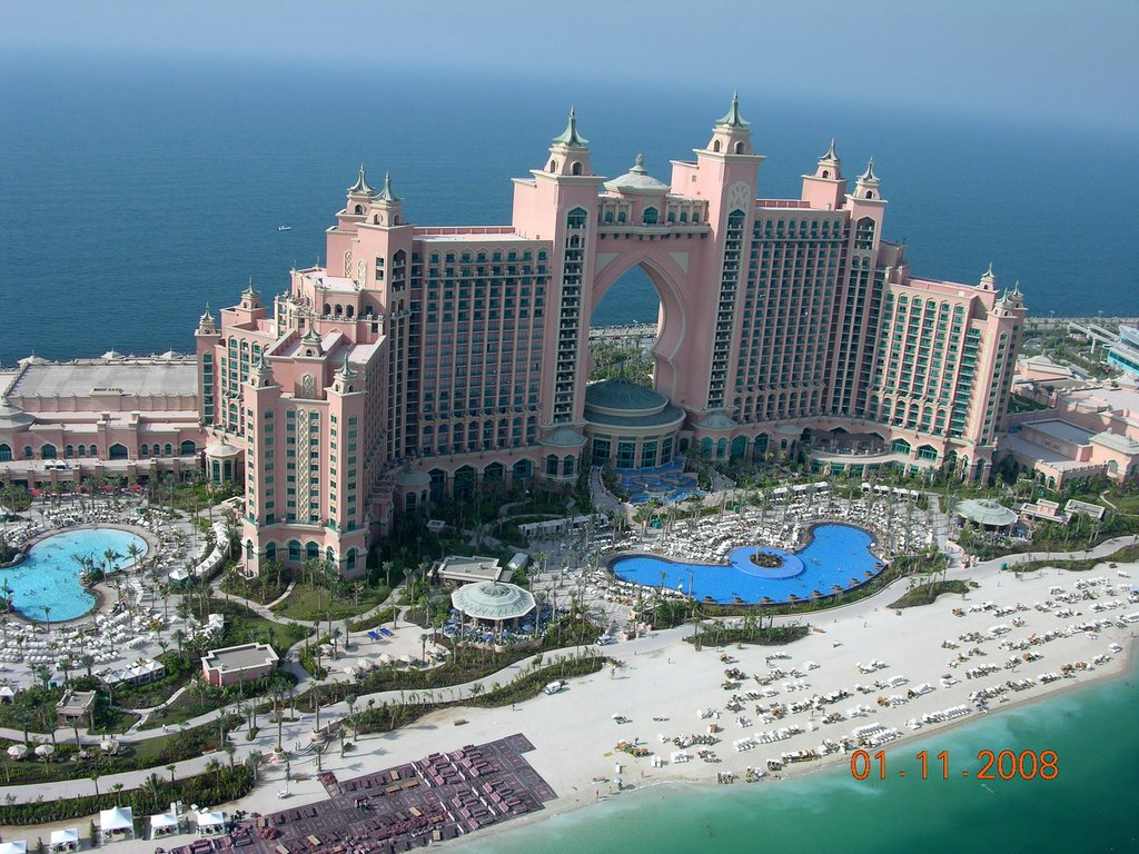 E e r the most romantic hotel ever atlantis the palms for Hotel dubai palm