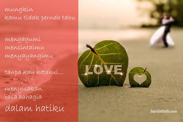 kumpulan kata kata cinta romantis untuk kekasih dalam puisi
