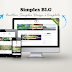 Simplex BLG - Free Blogger template, clean and modern