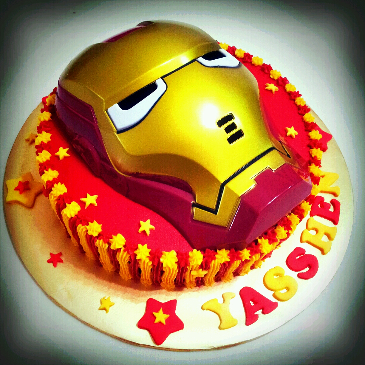 Cakesmooch Iron Man