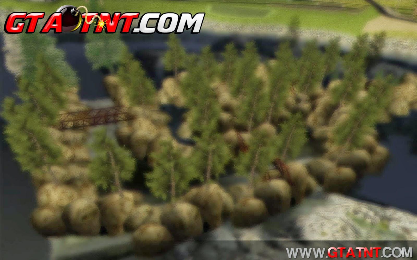Trilha de Off-Road para GTA San Adreas