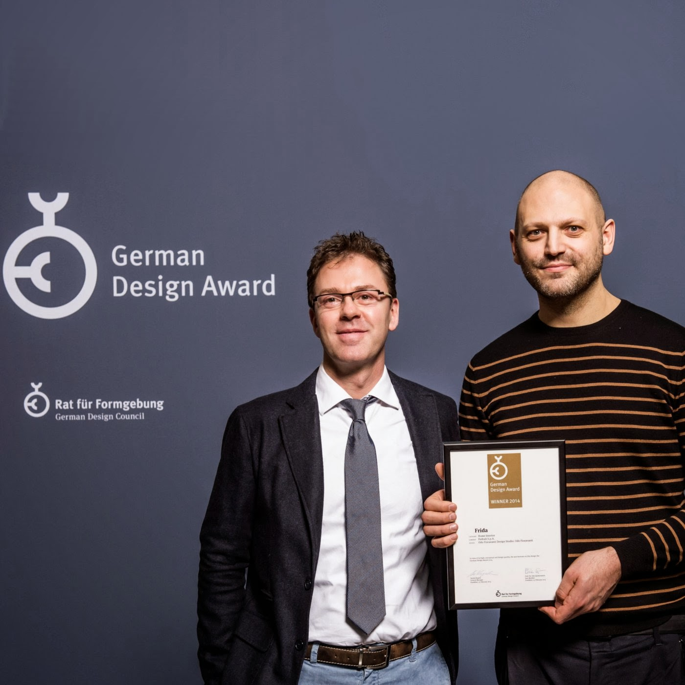 pedrali german design award winner 2014