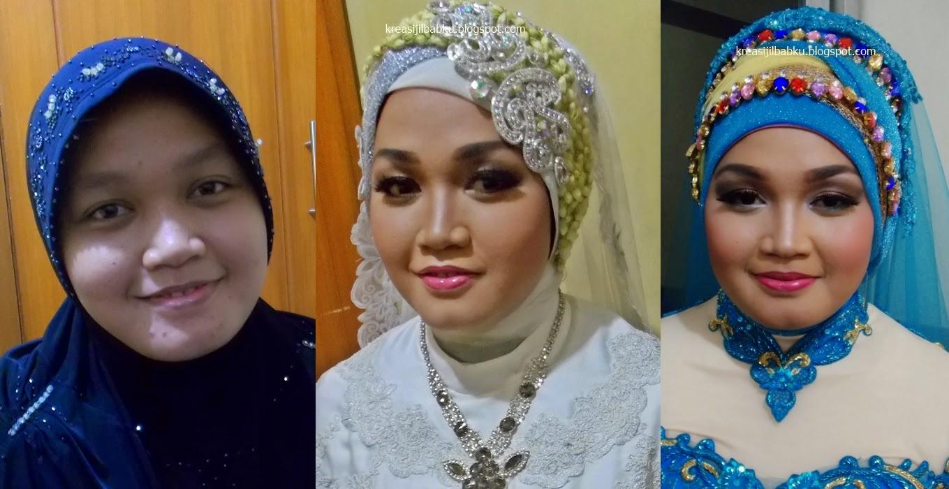 akad dan resepsi pengantin muslimah