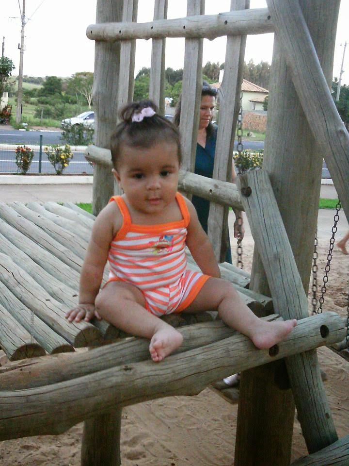 Sophia com 6 meses