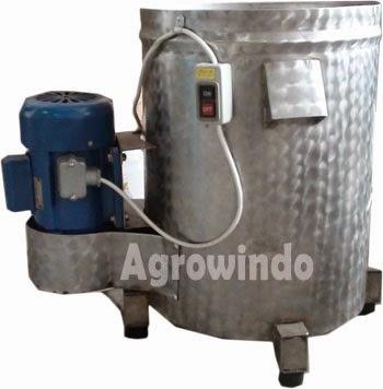 mesin spinner peniris minyak agrowindo terbaru