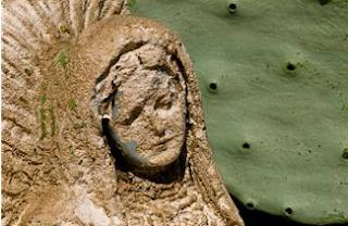 aging statue