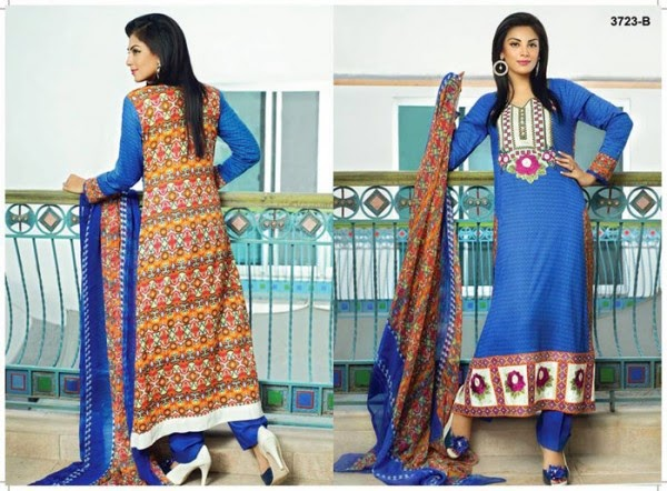 Tawakkal Fabrics Eid Collection 2014 For Women