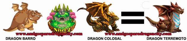 como obtener el dragon terremoto en dragon city formula 3