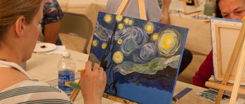 Painting Class Atascadero, Studio 101 West, Knoodle U Painting Classes