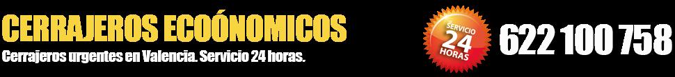 Cerrajeros en Valencia · 622 100 758 (ECONÓMICOS)